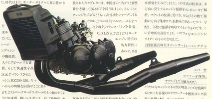 ENGINE '80 RD350LC